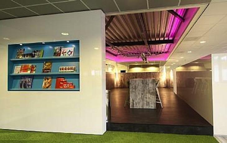 Bedrijfsruimte Hilversum, renovatie interieur