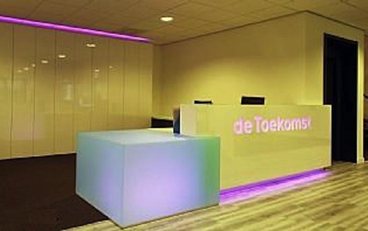 Bedrijfsruimte te Hilversum, renovatie interieur