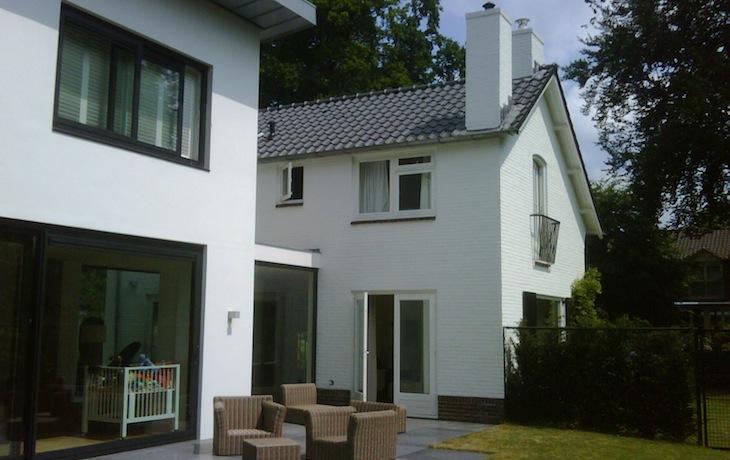 Renovatie bestaande woning en uitbreiding met 800m³ te Hilversum