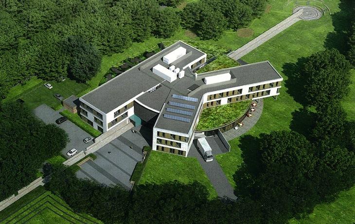 Training- en nazorgcentrum te Doorn, nieuwbouw